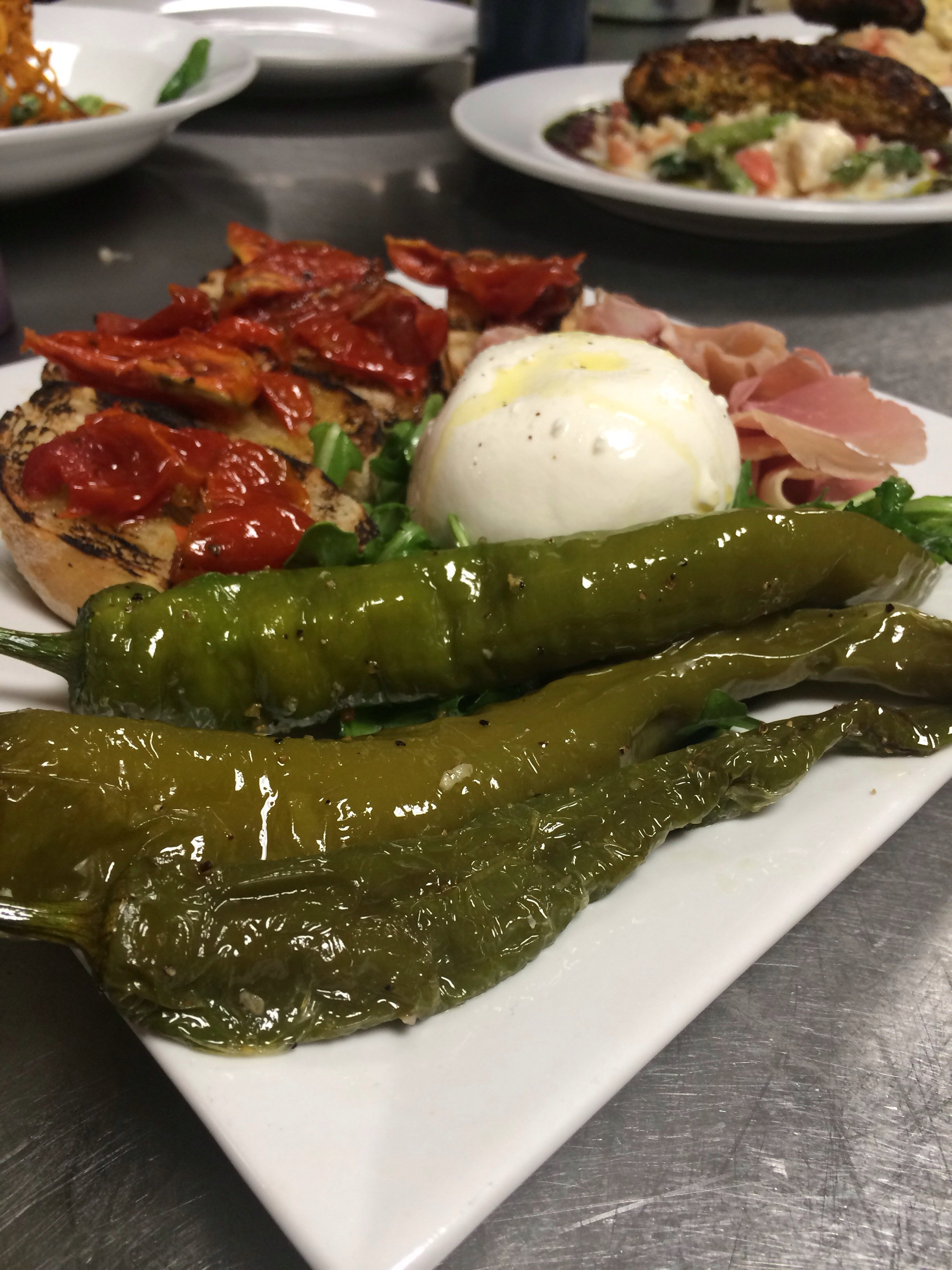 New for 2014: Summer Burrata Plate