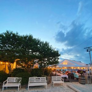 Another Weekend Under the Tent  // Reservations Available 2 Weeks in Advance Via… – Stefano's Restaurant LBI