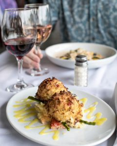 Read more about the article It's the Lobster Mash Peaking Out From Under the Crab Cake For Me // Stefanos No… – Stefano's Restaurant LBI
