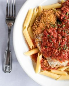 Read more about the article Chicken Parm on a Sunday Kinda Feeling // Closed Monday, Tuesday & Wednesday, Ba… – Stefano's Restaurant LBI