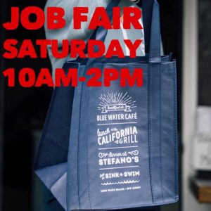Read more about the article Saturday! Come Join Our Stefanos Family of Restaurants & Apply for Openings at  … – Stefano's Restaurant LBI