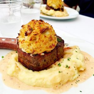 Read more about the article Double Surf & Turf to Close Out August Cheers to September! We will be OPEN Wedn… – Stefano's Restaurant LBI