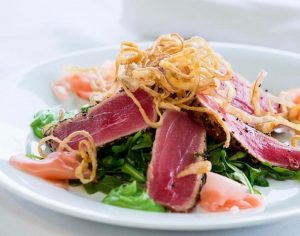 Read more about the article Inside or Outside Our Seared Tuna is Always a Favorite  We will continue to offe… – Stefano's Restaurant LBI