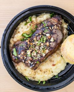 Read more about the article THE Garlic Steak  A Sunday Family Favorite || Pre Ordering is Available & Recomm… – Stefano's Restaurant LBI