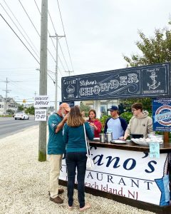 Birds & Chowder! Stop & See Us Out Front on Your Way Down to Chowderfest!… – Stefano's Restaurant LBI