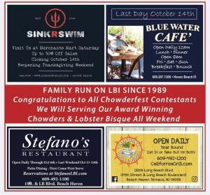 Read more about the article This Year We are Changing it Up!    Stop By Saturday & Sunday for Free Samples, … – Stefano's Restaurant LBI